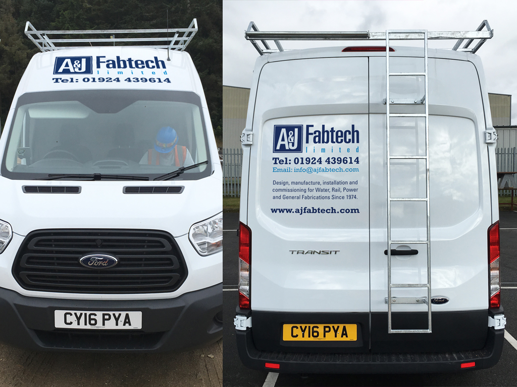 Vehicle livery design, livery design, graphic design, branding, signage, production, Sheffield