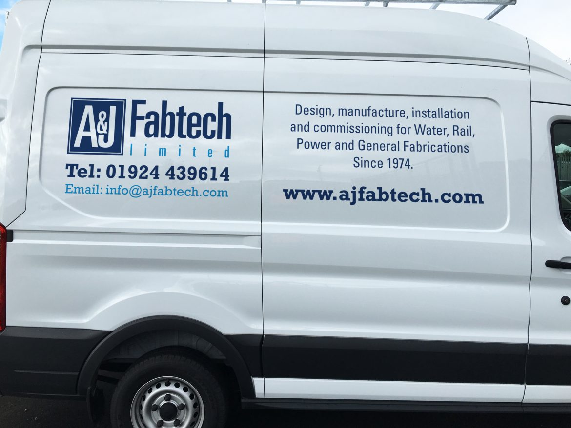Vehicle livery, graphic design, fitting, brand consultancy, Sheffield