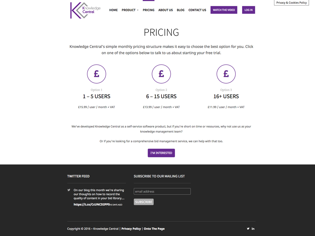 Knowledge Central, Fully responsiveWebsite design, Wordpress, SEO, fully responsive, Sheffield, website build, brand consultancy, branding, graphic design