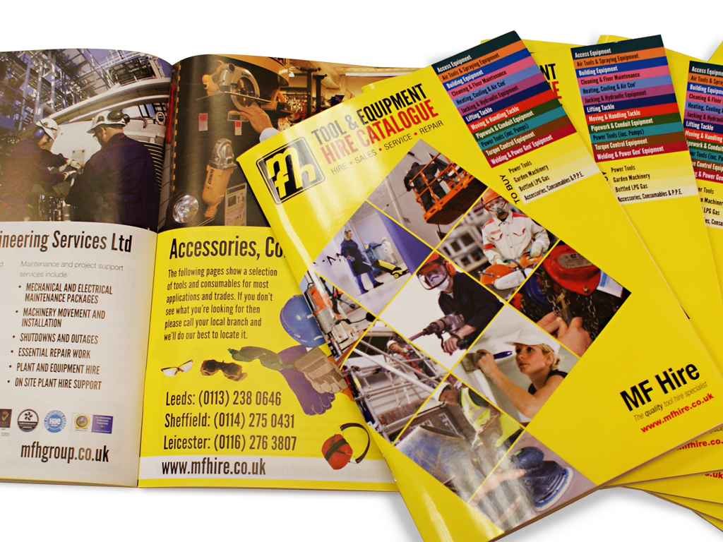 product catalogue, graphic design, brand consultancy, Sheffield, design for print, branding, marketing