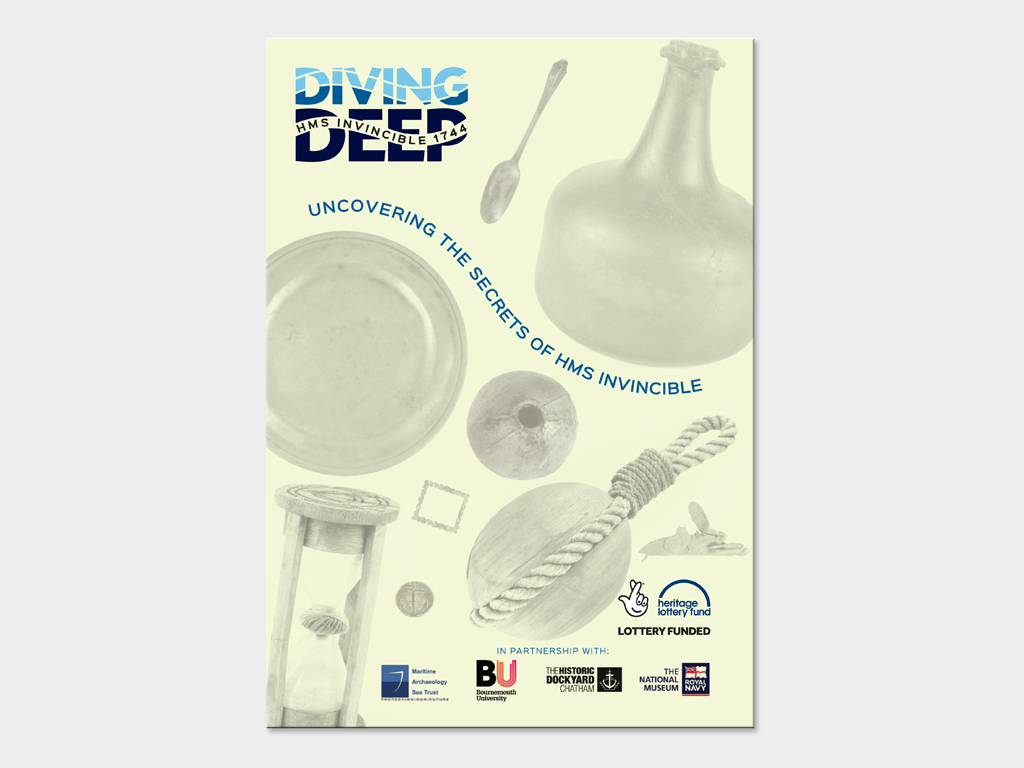 Graphic Design for Diving Deep project