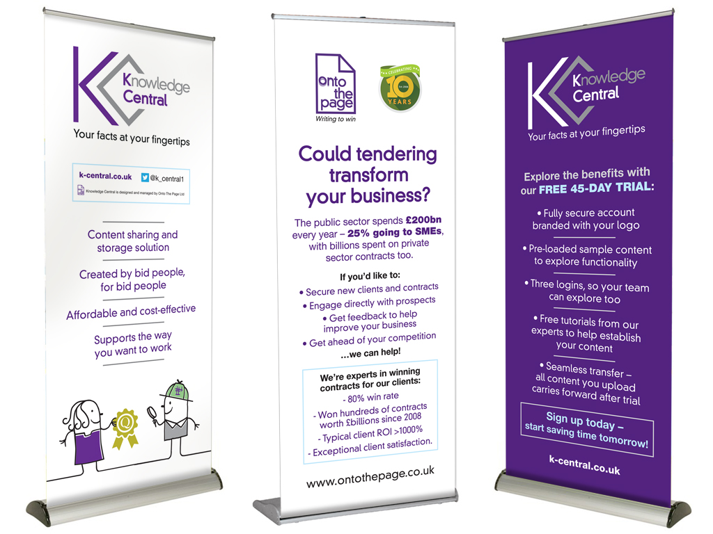 High quality, pull up banner stand, design, production, graphic design, branding, marketing support, brand consultancy, Sheffield