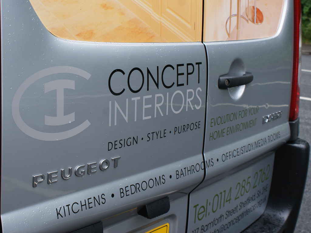 Vehicle livery design, graphic design, branding, brand consultancy, Sheffield consultants