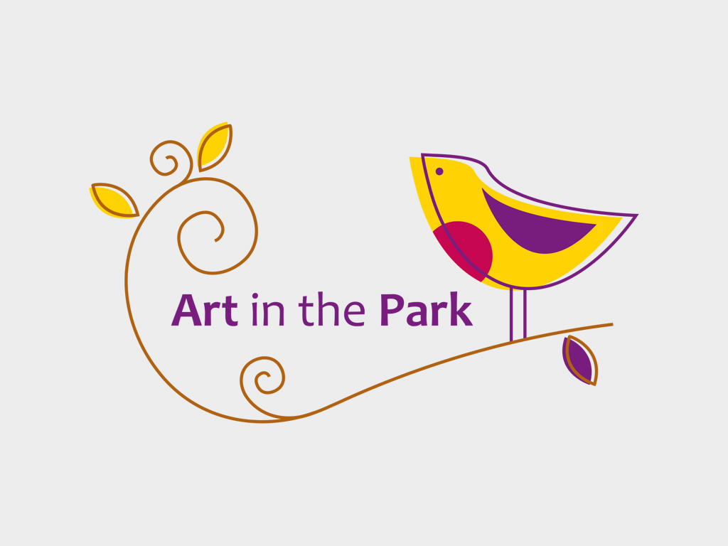 Art in the park logo
