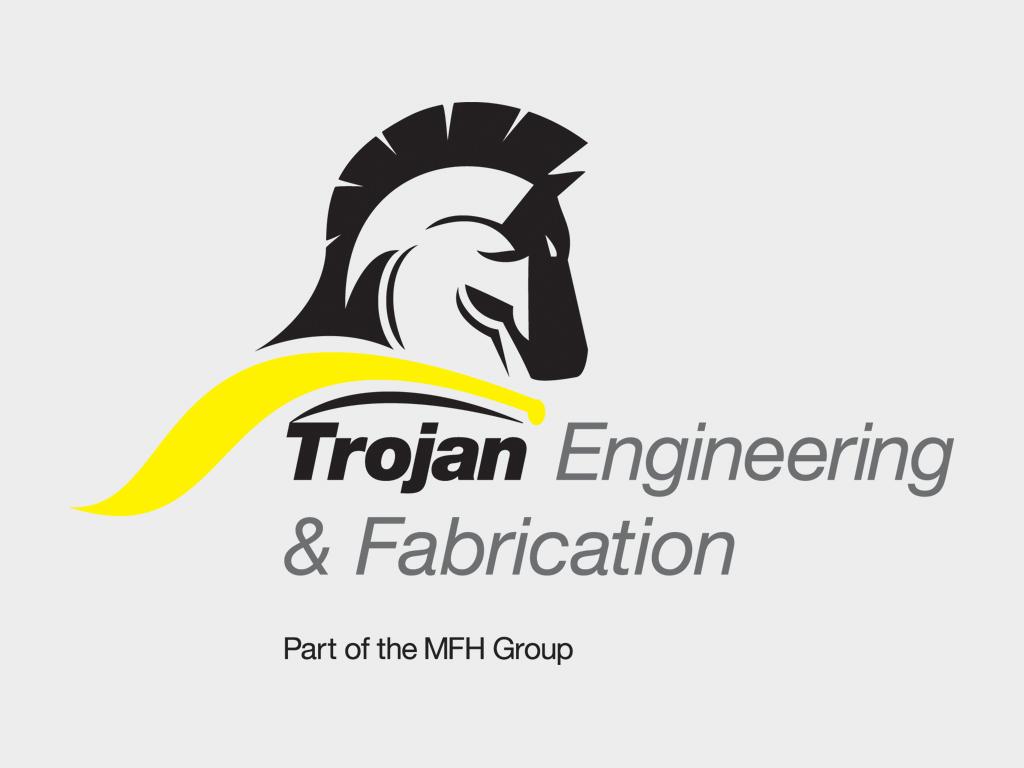 Graphic design of Trojan Engineering logo