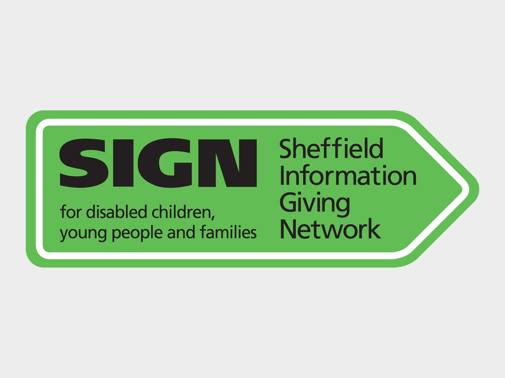 Logo design for Sheffield Information Giving Network logo