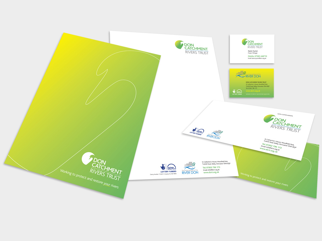 Graphic Design, Branding, Agency, Sheffield, stationery design, Charity, Ethical, Environmental