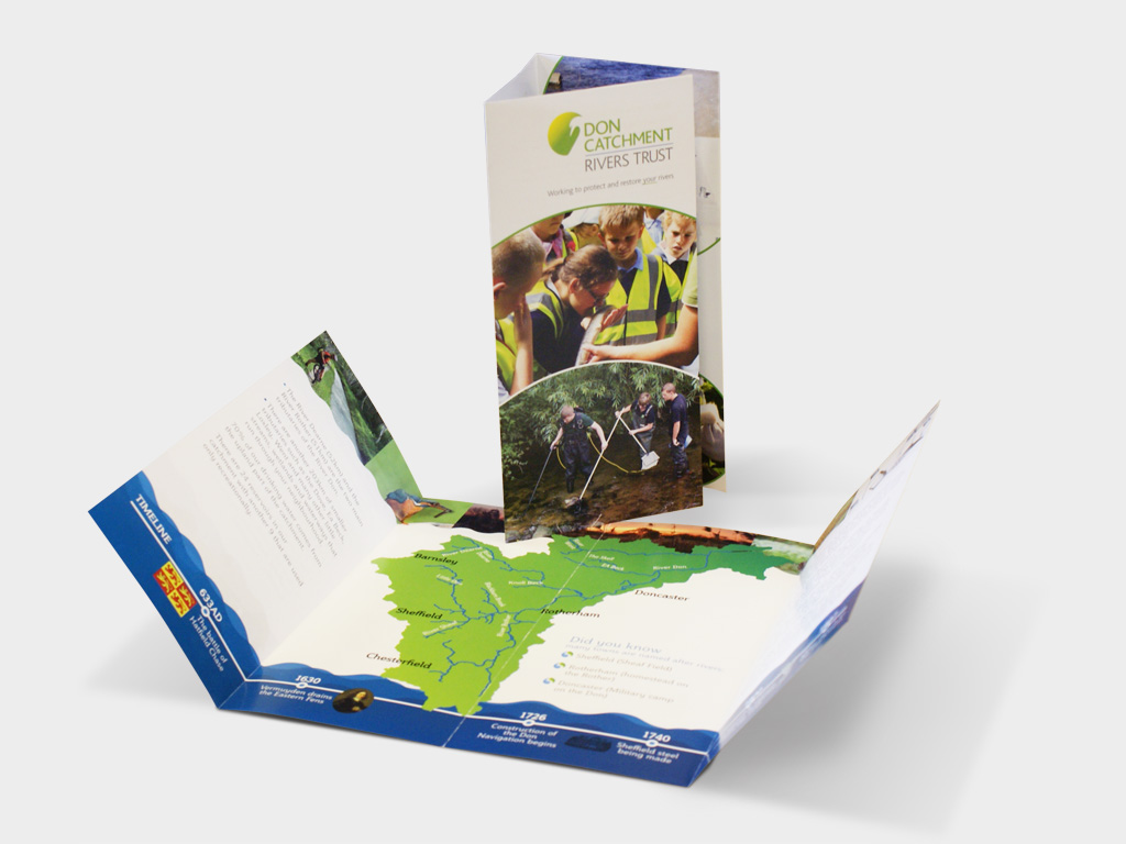 Graphic Design, Branding, Agency, Sheffield, leaflet design, Charity, Ethical, Environmental