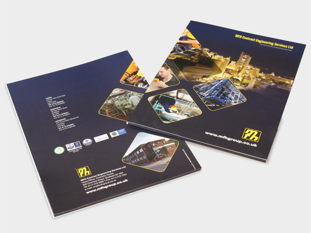 Graphic Design, Branding, Brand consultant, Agency, Sheffield, corporate folder design, promotional folder,