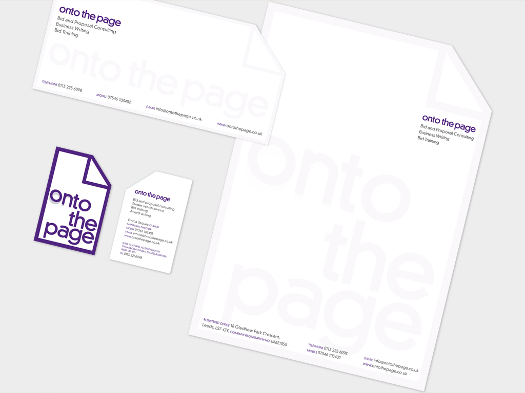 Corporate Identity, graphic design, print, branding, leaflets, promotional items, Sheffield, brand agency, consultants