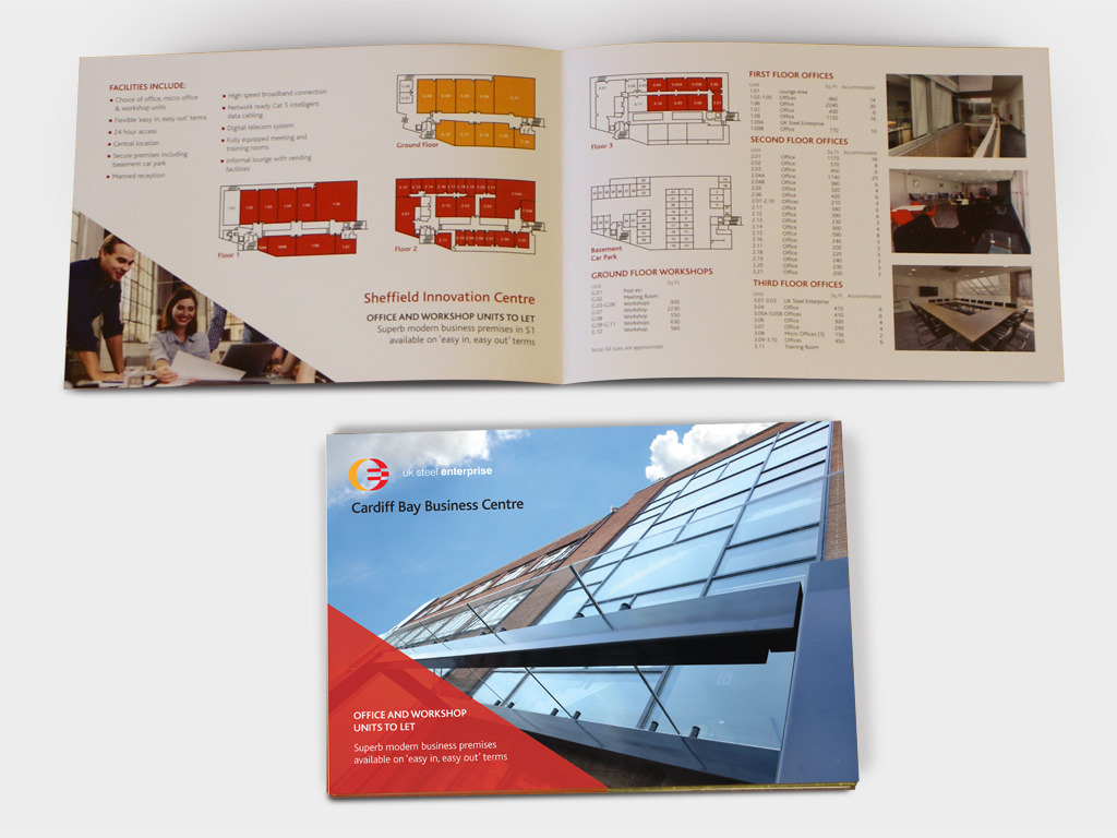 UK Steel Enterprise, marketing toolkit, branding, brand, graphic design, agency, brand, branding, consultants, Sheffield, design for print