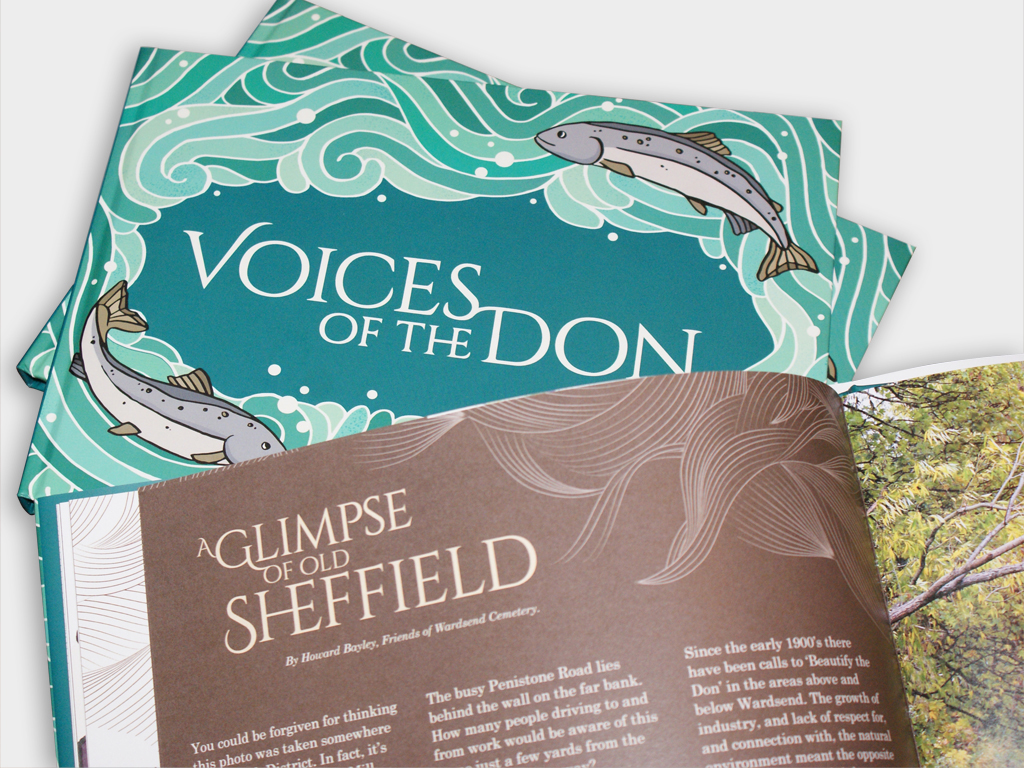 Voices of the Don book design