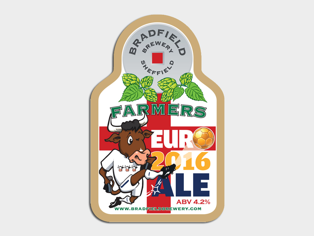 Graphic design of pump clip