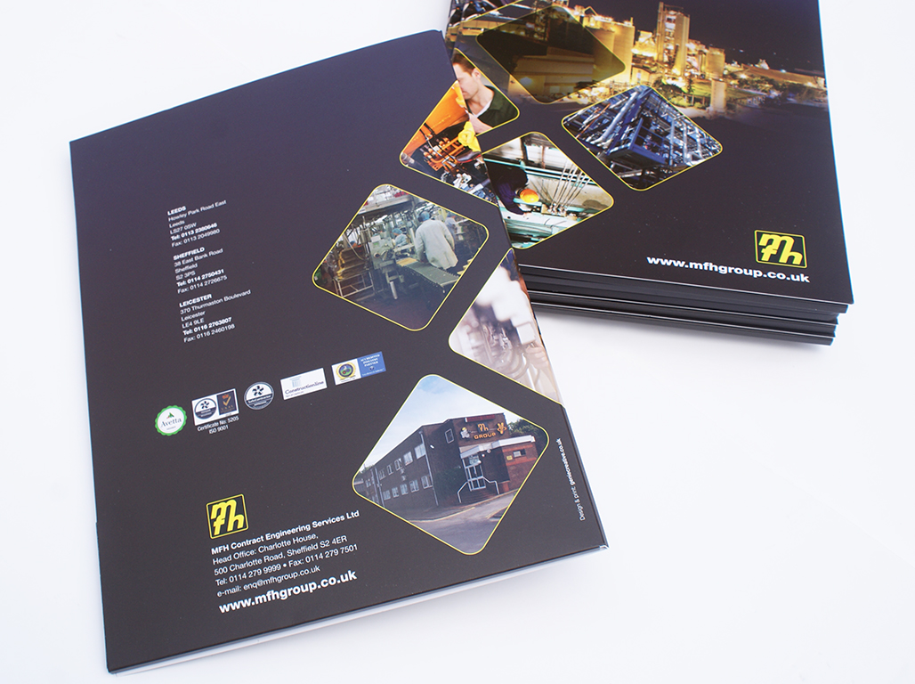 Bespoke marketing folder