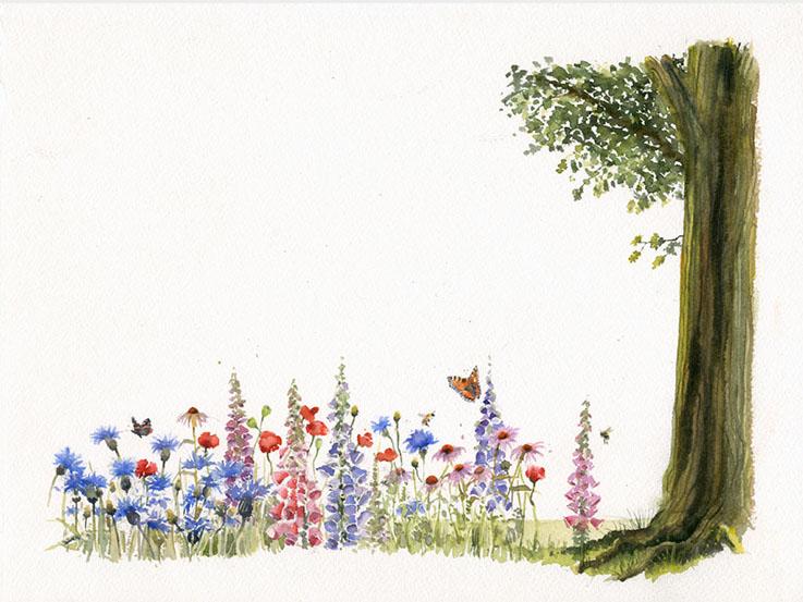 Ada lovelace page frame illustration