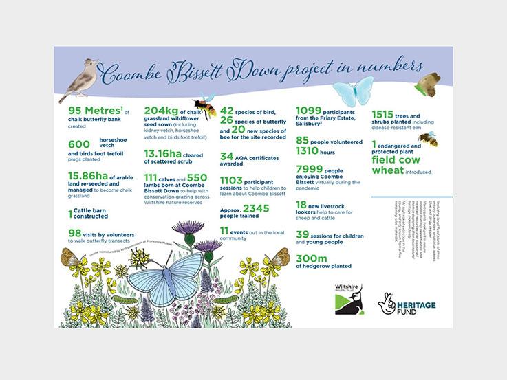 Coombe Bissett infographics