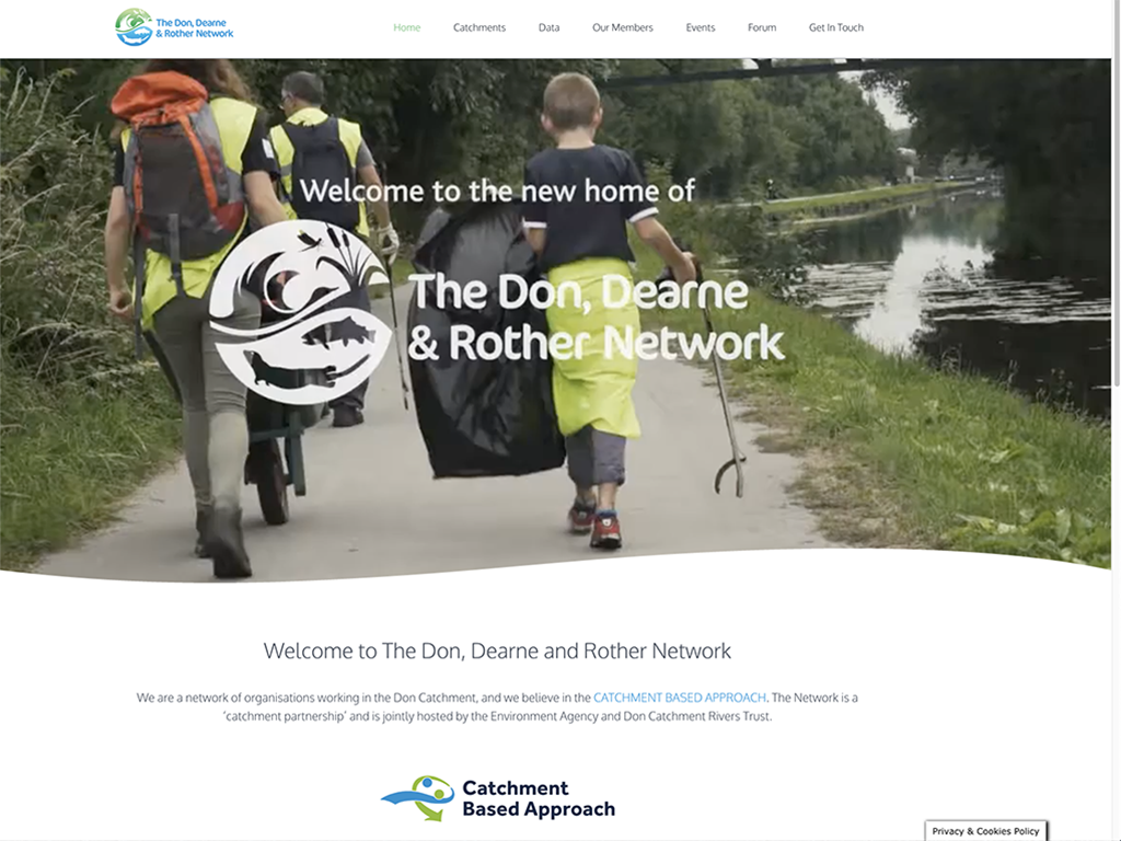 Don, Dearne & Rother website design