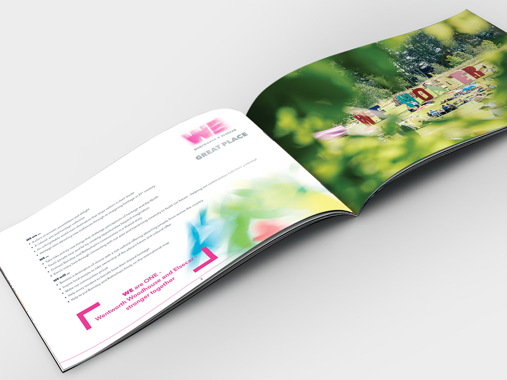 GPWE brochure design spread