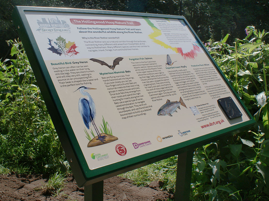 Public information signage