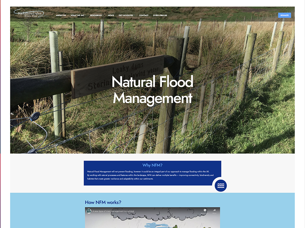 YDRT Natural Flood Management page1