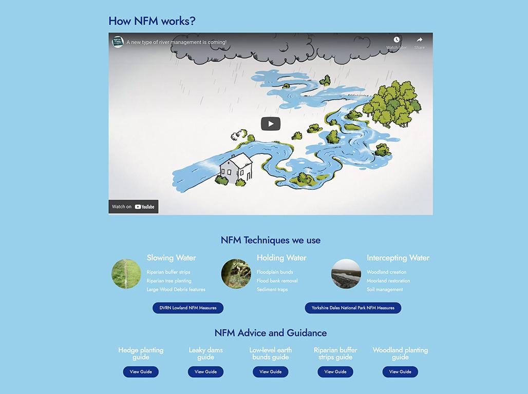 YDRT Natural Flood Management page